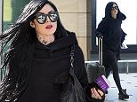 EXCLUSIVE: Kat Von D arrives into Sydney Airport, wearing all black.\n\nPictured: Kat Von D\nRef: SPL900794  011214   EXCLUSIVE\nPicture by: Kate Dwek/ Splash News\n\nSplash News and Pictures\nLos Angeles:\t310-821-2666\nNew York:\t212-619-2666\nLondon:\t870-934-2666\nphotodesk@splashnews.com\n