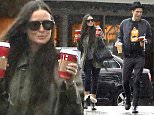 Picture Shows: Demi Moore, Sean Friday  November 30, 2014    Actress Demi Moore braves the rain to stop by Starbucks with her much younger boyfriend Sean Friday in Los Angeles, California.    Exclusive - All Round  UK RIGHTS ONLY    Pictures by : FameFlynet UK    2014  Tel : +44 (0)20 3551 5049  Email : info@fameflynet.uk.com