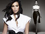 Embargoed until 00:01 GMT, 3rd December Kim Kardashian   s ELLE UK cover  Kim Kardashian