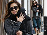 Picture Shows: Nicole Scherzinger  December 02, 2014\n \n American singer and former member of girl group The Pussycat Dolls, Nicole Scherzinger, dresses down as she is seen leaving a yoga class in London, England.\n \n The star foregoes her usual glamorous and stylish wear by wearing a casual outfit that included a dark grey, loose-fitting sweatshirt, knee-length blue trousers and slip-on shoes.\n \n The American singer was rehydrating with Icelandic Glacial water. \n \n Exclusive All Rounder\n WORLDWIDE RIGHTS\n Pictures by : FameFlynet UK © 2014\n Tel : +44 (0)20 3551 5049\n Email : info@fameflynet.uk.com