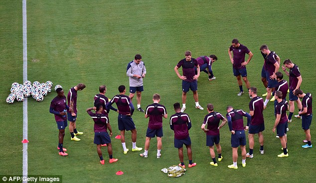 Adapt: Gerrard insists his England team-mates will be able to cope with the conditions in Manaus