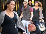 Pregnant Blake Lively & Ryan Reynolds check out of the Bowery Hotel in New York City.\n\nPictured: Blake Lively, Ryan Reynolds\nRef: SPL904442  041214  \nPicture by: Steffman-Turgeon / Splash News\n\nSplash News and Pictures\nLos Angeles: 310-821-2666\nNew York: 212-619-2666\nLondon: 870-934-2666\nphotodesk@splashnews.com\n