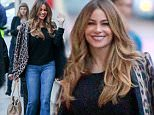 Hollywood, CA - Sofia Vergara makes a rainy day visit to El Capitan Theatre in Hollywood for the Jimmy Kimmel Live! show.\n \nAKM-GSI        December  3, 2014\nTo License These Photos, Please Contact :\nSteve Ginsburg\n(310) 505-8447\n(323) 423-9397\nsteve@akmgsi.com\nsales@akmgsi.com\nor\nMaria Buda\n(917) 242-1505\nmbuda@akmgsi.com\nginsburgspalyinc@gmail.com