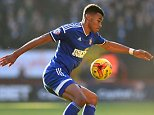 LONDON, ENGLAND - NOVEMBER 29: Tyrone Mings of Ipswich Town in action during the Sky Bet Championship match between Charlton Athletic and Ipswich Town at The Valley on November 29, 2014 in London, England. (Photo by Tom Dulat/Getty Images)