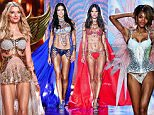 02.DECEMBER.2014 - LONDON - UK\n\nADRIANA LIMA AND ALESSANDRA AMBROSIO WALK THE RUNWAY AT THE 2014 VICTORIA'S SECRET FASHION SHOW HELD AT THE EARLS COURT EXHIBITION CENTER \n\nBYLINE MUST READ : ABACA/XPOSUREPHOTOS.COM\n\n*AVAILABLE FOR UK ONLY*\n\n***UK CLIENTS - PICTURES CONTAINING CHILDREN PLEASE PIXELATE FACE PRIOR TO PUBLICATION ***\n\n**UK CLIENTS MUST CALL PRIOR TO TV OR ONLINE USAGE PLEASE TELEPHONE 0208 344 2007**