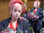 Mandatory Credit: Photo by Beretta/Sims/REX (4273915a)  Lily Allen  Lily Allen out and about at a florist, London, Britain - 03 Dec 2014