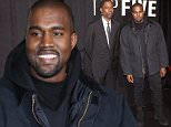 "NEW YORK, NY - DECEMBER 03:  Kanye West attends the ""Top Five"" New York Premiere  at Ziegfeld Theater on December 3, 2014 in New York City.  (Photo by Rob Kim/Getty Images)"