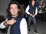 Mandatory Credit: Photo by Beretta/Sims/REX (4275009k)\n Orlando Bloom\n Orlando Bloom out and about, London, Britain - 04 Dec 2014\n Orlando Bloom at the studios of BBC Radio 1\n