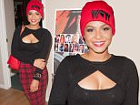 "CULVER CITY, CA - DECEMBER 02:  Recording artist Christina Milian attends an intimate private screening & press conference for ""The Bay Chapter 13"" at Haas Entertainment on December 2, 2014 in Culver City, California.  (Photo by Lilly Lawrence/WireImage)"