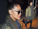 Mandatory Credit: Photo by Buzz Foto/REX (4275464b)\n Rihanna\n Rihanna out and about in New York, America - 04 Dec 2014\n \n