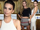 MIAMI, FL - DECEMBER 04:  Actress Emily Ratajkowski attends the 5th Annual Bombay Sapphire Artisan Series Finale at Tent at Soho Beach House on December 4, 2014 in Miami, Florida.  (Photo by Jamie McCarthy/Getty Images for Bombay Sapphire)