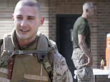 """129893, EXCLUSIVE: FIRST SIGHTING! Shia LaBeouf is spotted for the first time since his allegations of rape came out against a patron of his art exhibit #IAMSORRY. Shia was back at work on the set of """"Man Dowt; dot; dressed in full Marine combat uniform in New Orleans. Off screen the actor was seen drinking bottled water and eating a salad. New Orleans, Louisiana - Thursday, December 4, 2014. Photograph: © PacificCoastNews. Los Angeles Office: +1 310.822.0419 sales@pacificcoastnews.com FEE MUST BE AGREED PRIOR TO USAGE"""