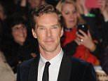 EBHW8F London, UK. 1st Dec, 2014. Benedict Cumberbatch attends the UK premiere of 'Hobbit' at Empire Leciester Square.   Ferdaus Shamim/ZUMA Wire/Alamy Live News