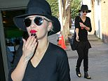 4 Dec 2014 - LOS ANGELES - USA  NO TIME TO PLAY FOR RITA ORA AS SHE HEADS STRAIGHT FROM LAX TO A RECORDING STUDIO.  BYLINE MUST READ : XPOSUREPHOTOS.COM  ***UK CLIENTS - PICTURES CONTAINING CHILDREN PLEASE PIXELATE FACE PRIOR TO PUBLICATION ***  **UK CLIENTS MUST CALL PRIOR TO TV OR ONLINE USAGE PLEASE TELEPHONE  44 208 344 2007 ***