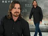 """MADRID, SPAIN - DECEMBER 04:  Actor Christian Bale attends the """"Exodus"""" photocall at the Villamagna Hotel on December 4, 2014 in Madrid, Spain.  (Photo by Carlos Alvarez/Getty Images)"""