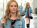 Kate Bosworth Leaves a Meeting in Downtown Wearing a Guess Boyfriend Denim Jacket  Pictured: Kate Bosworth Ref: SPL902439  031214   Picture by: All Access Photo  Splash News and Pictures Los Angeles: 310-821-2666 New York: 212-619-2666 London: 870-934-2666 photodesk@splashnews.com