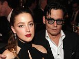 """NEW YORK, NY - MAY 06:  Actress Amber Heard and Johnny Depp attend Spike TV's """"Don Rickles: One Night Only"""" on May 6, 2014 in New York City.  (Photo by Kevin Mazur/Getty Images for Spike TV)"""