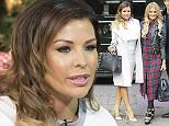 TOWIE's Jessica Wright, Danielle Armstrong and James Lock are pictured leaving the ITV studios following a guest appearance on 'This Morning'.  Ref: SPL905325  051214   Picture by: Simon Earl / Splash News  Splash News and Pictures Los Angeles: 310-821-2666 New York: 212-619-2666 London: 870-934-2666 photodesk@splashnews.com