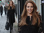 Lydia Bright looks fashionable in lace as she heads to work. Lydia kept herself busy at work, on James Argents birthday. Rumours are, are that they have split up as they havent been seen together for a long time. Arg spent his birthday at a boxing boot camp away from everyone. He is battling a cocaine addiction.\n\nPictured: lydia bright\nRef: SPL901872  051214  \nPicture by: Splash News\n\nSplash News and Pictures\nLos Angeles: 310-821-2666\nNew York: 212-619-2666\nLondon: 870-934-2666\nphotodesk@splashnews.com\n