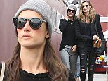 Brentwood, CA - Leggy beauties Alessandra Ambrosio and Ana Beatriz Barros spend a cloudy day at Brentwood Country Mart indulging in some retail therapy.  Alessandra dressed a bit more casually in grey sweatpants, black sweater, and grey beanie, while Ana Beatriz wore a black blazer and ripped denim jeans paired with leopard print slip ons. \n  \nAKM-GSI        December 5, 2014\nTo License These Photos, Please Contact :\nSteve Ginsburg\n(310) 505-8447\n(323) 423-9397\nsteve@akmgsi.com\nsales@akmgsi.com\nor\nMaria Buda\n(917) 242-1505\nmbuda@akmgsi.com\nginsburgspalyinc@gmail.com