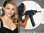 Picture Shows: Chloe Grace Moretz  October 09, 2014.. .. Celebrities seen attending the 5th annual PSLA Autumn Party, held at 3Labs in Los Angeles, California... .. Non Exclusive.. UK RIGHTS ONLY.. .. Pictures by : FameFlynet UK © 2014.. Tel : +44 (0)20 3551 5049.. Email : info@fameflynet.uk.com