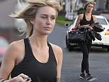PICTURE BYLINE --- optimusimages.co.uk PICTURES SHOW --- WAG Alex Gerrard seen in Liverpool dressed in her gym gear, the mum of three looked stunning in her all all black gym attire and newly blow dryed hair. DATE --- 05-12-2014 ****NOTICE, NO WEB OR TV USAGE WITHOUT PRIOR AGREEING A FEE**** ****Please Email - pictures@optimusimages.co.uk or visit -  www.optimusimages.co.uk****