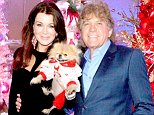 Palm Springs, CA - 'Real Housewive of Beverly Hills' star Lisa Vanderpump arrived at the Hard Rock Hotel in Palm Springs on Friday with husband Ken Todd and famous dog Gigi in tow. Lisa Vanderpump, who was selected as Grand Marshall for the Palm Springs Festival of Lights Parade, auctioned off a pink and white custom Christmas tree to benefit the Act for MS organization. Little Gigi also got a mini tree to be auctioned off complete with white decorations and doggy treats.  AKM-GSI                   December 5, 2014  To License These Photos, Please Contact :    Steve Ginsburg  (310) 505-8447  (323) 423-9397  steve@akmgsi.com  sales@akmgsi.com    or    Maria Buda  (917) 242-1505  mbuda@akmgsi.com  ginsburgspalyinc@gmail.com