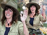 PHOTOGRAPH COPYRIGHT NIGEL WRIGHT. AUSTRALIA  IM A CELEBRITY GET ME OUT OF HERE 2014. THIS PICTURE SHOWS: VICKI MICHELLE THE 4th EVICTEE FROM THE CELEBRITY CAMP IN AUSTRALIA...WITH DAUGHTER LOUISE