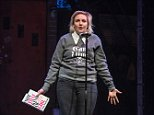 """NEW YORK, NY - DECEMBER 02:  Actress/Author Lena Dunham reads from her book, """"Not That Kind of Girl"""" during the 2014 Ally Coalition's Talent Show at New World Stages on December 2, 2014 in New York City.  (Photo by Mike Pont/Getty Images)"""
