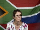 (FILES) This file picture dated on January 16, 2014 shows South African Yolande Korkie, a former hostage and wife of Pierre Korkie, holding a press conference in Johannesburg to appeal for the release of her husband held in Yemen. A South African hostage Pierre Korkie has been killed in a failed raid to free captives held by militants in Yemen, a charity said on December 6, 2014, adding that his death came a day before he was due to be released after more than a year in captivity. AFP PHOTO/MARCO LONGARIMARCO LONGARI/AFP/Getty Images