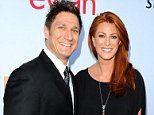 Mandatory Credit: Photo by Startraks Photo/REX (3816956c).. Angie Everhart and Carl Ferro.. Pathway to the Cure for Breast Cancer Fundraiser, Los Angeles, America - 11 Jun 2014.. ..