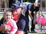 Picture Shows: Georgia Dane, Eric Dane  December 06, 2014\n \n 'Grey Lady' actor Eric Dane and his daughter Georgia spend the day with friends at the Coldwater Canyon Park in Beverly Hills, California. The pair tossed green and red coloured balls for a game they were playing.\n \n Non-Exclusive\n UK RIGHTS ONLY\n \n Pictures by : FameFlynet UK © 2014\n Tel : +44 (0)20 3551 5049\n Email : info@fameflynet.uk.com