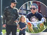 129986, Nicole Richie and Joel Madden spend some time at a playground with there children Harlow and Sparrow Madden in Pasadena. Joel also stopped by at a store to buy some Christmas decorations. Pasadena, California - Saturday December 06, 2014. Photograph: Miguel Aguilar, © PacificCoastNews. Los Angeles Office: +1 310.822.0419 sales@pacificcoastnews.com FEE MUST BE AGREED PRIOR TO USAGE