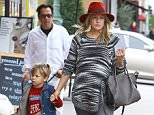 """!! PLEASE CREDIT ALL USAGE TO """"LIMELIGHTPICS.US"""" !!..** MUST CALL BEFORE USE!  ©LIMELIGHT PICTURES**....Pregnant Ali Larter seen heading for lunch with her son in Los Angeles,....CA 120514  ©LIMELIGHT PICTURES ..!! PLEASE CREDIT ALL USAGE TO """"LIMELIGHTPICS.US"""" !!"""