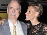 Mandatory Credit: Photo by REX (2647698f).. John Cleese and Jennifer Wade.. Mick Jagger's 70th birthday party in London, Britain - 13 Jul 2013.. Mick Jagger celebrate his 70th birthday and the end of the Rolling Stones concert with friends and family at 5 Hertford Street in Mayfair...