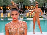 Fashion model Nina Agdal glams up for photography duo Markus & Koala and French PHOTO magazine at National Hotel on December 5, 2014 in Miami Beach, Florida\n\nPictured: Nina Agdal\nRef: SPL905872  051214  \nPicture by: Christopher Peterson/Splash News\n\nSplash News and Pictures\nLos Angeles: 310-821-2666\nNew York: 212-619-2666\nLondon: 870-934-2666\nphotodesk@splashnews.com\n