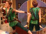 5 December 2014 - Los Angeles - USA  **** STRICTLY NOT AVAILABLE FOR USA ***  Allison Williams almost crashes into a wall as she stars in the boy who never grew up in NBC's Peter Pan Live. The 26-year-old actress had a bit of trouble with her take off for the live adaptation of the famous children's novel. Demonstrating her super powers to Wendy, played by Taylor Louderman, Allison got off to a rough start nearly crashing into a wall while attached to a high wire. But the actress quickly recovered from the near miss by using her hand to cushion herself against the wall and gave a great performance during the three hour show. She was joined on stage by legendary actor Christopher Walken as Captain Hook, who delighted fans with his dancing and singing. The rest of the show went smoohtly and Minnie Driver also made a surprise appearance at the end as a grown up Wendy.   XPOSURE PHOTOS DOES NOT CLAIM ANY COPYRIGHT OR LICENSE IN THE ATTACHED MATERIAL. ANY DOWNLOADING FEES CHARGED BY XPOSUR