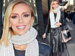 New York, NY - Giuliana Rancic has a glow about her as she steps out in New York this afternoon.  The TV personality was full of smiles and kept her look simple in a black leather trench coat with a grey scarf.\nAKM-GSI           December 4, 2014\nTo License These Photos, Please Contact :\n \n Steve Ginsburg\n (310) 505-8447\n (323) 423-9397\n steve@akmgsi.com\n sales@akmgsi.com\n \n or\n \n Maria Buda\n (917) 242-1505\n mbuda@akmgsi.com\n ginsburgspalyinc@gmail.com