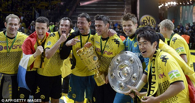Scratch below the surface: Borussia Dortmund achieved a league and cup double, but German football is not as rosy as some would make out