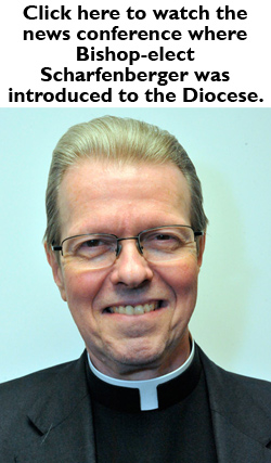Bishop-elect news conference video