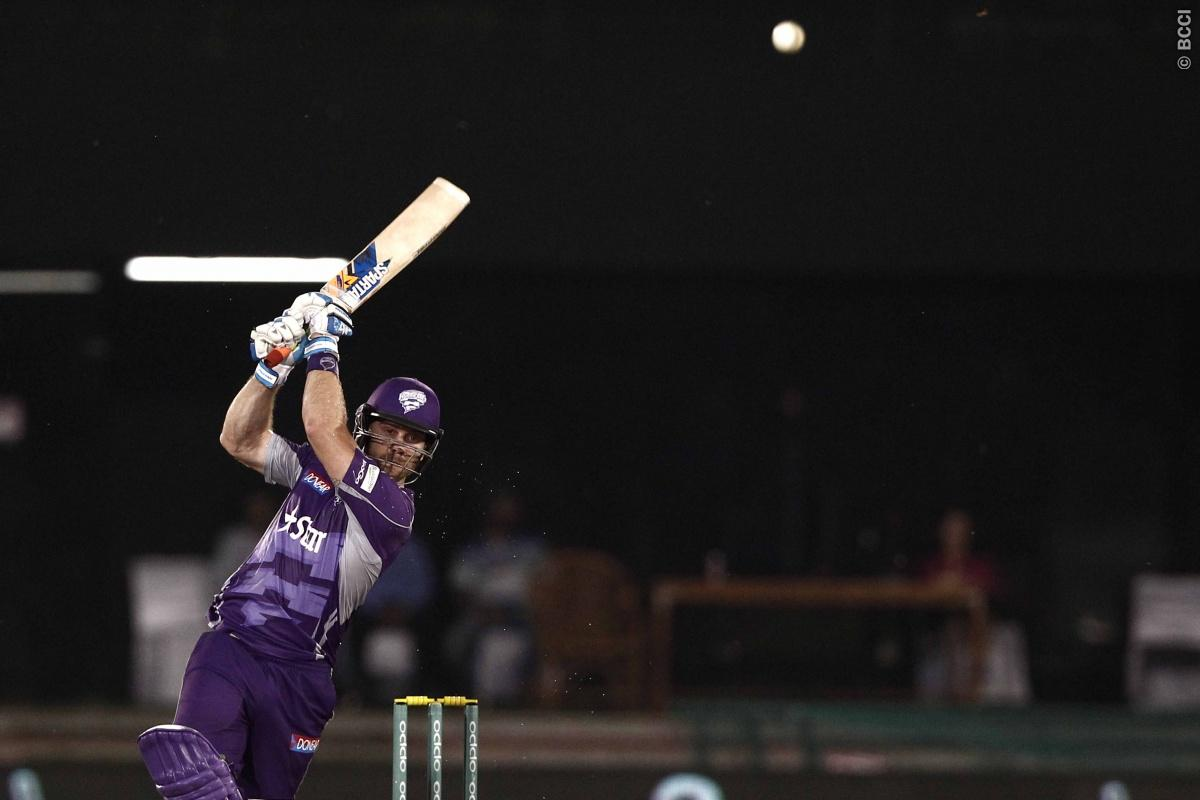 Aiden Blizzard of Hobart Hurricanes during match 9 of the Oppo Champions League Twenty20 between the Hobart Hurricanes and the Northern knights held at the Chhattisgarh International Cricket Stadium, Raipur, India on the 23rd September 2014  Photo by:  Deepak Malik / Sportzpics/ CLT20   Image use is subject to the terms and conditions as laid out by the BCCI/ CLT20.  The terms and conditions can be downloaded here:  http://sportzpics.photoshelter.com/gallery/CLT20-Image-Terms-and-Conditions-2014