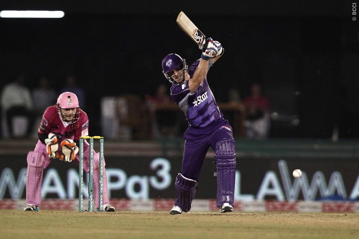 Tim Paine captain of Hobart Hurricanes during match 9 of the Oppo Champions League Twenty20 between the Hobart Hurricanes and the Northern knights held at the Chhattisgarh International Cricket Stadium, Raipur, India on the 23rd September 2014  Photo by:  Deepak Malik / Sportzpics/ CLT20   Image use is subject to the terms and conditions as laid out by the BCCI/ CLT20.  The terms and conditions can be downloaded here:  http://sportzpics.photoshelter.com/gallery/CLT20-Image-Terms-and-Conditions-2