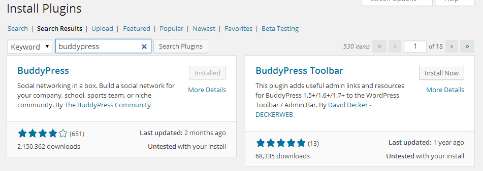 search plugins4 WordPress 4.0 Beta 1 is now available