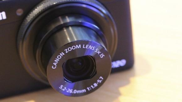 Canon PowerShot S120 lente