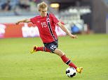 FILE PHOTO: Reports say Liverpool are considering a move for Stromsgodset's 15-year-old Norway international midfielder Martin Odegaard 15 year old Martin Odegaard, Norway's youngest player ever in the national football team, in action today against United Arab Emirates.  Photo: Terje Pedersen / NTB scanpix ... Soccer - International Friendly - Norway v United Arab Emirates - Viking Stadion ... 27-08-2014 ... Stavanger ... Norway ... Photo credit should read: Terje Pedersen/Scanpix Norway. Unique Reference No. 20750858 ...  Scanpix Norway via Press Association Images