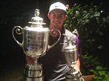 Rory Mcilroy poses with the USPGA Wanamaker trophy and The Open Championship Claret Jug Rory Mcilroy twitter @McIlroyRory  ·  9h The summer of 2014 is one I'll never forget!! #backtobackmajors