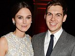 LONDON, ENGLAND - DECEMBER 07:  Keira Knightley (L) and James Righton attend an after party celebrating The Moet British Independent Film Awards 2014 at Old Billingsgate Market on December 7, 2014 in London, England.  (Photo by David M. Benett/Getty Images for The Moet British Independent Film Awards)