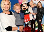 Mandatory Credit: Photo by Startraks Photo/REX (4300888g)\n Malin Akerman with family\n Disney On Ice Presents Let's Celebrate, Los Angeles, America - 11 Dec 2014\n \n