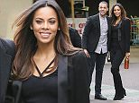 Marvin and Rochelle Humes, Peter Andre, Natasha Hamilton, Joey Essex and Vicki Michelle are among celebrities pictured arriving at the ITV studios to take part in Text Santa.  Pictured: Rochelle & Marvin Humes Ref: SPL910983  121214   Picture by: Simon Earl / Splash News  Splash News and Pictures Los Angeles: 310-821-2666 New York: 212-619-2666 London: 870-934-2666 photodesk@splashnews.com