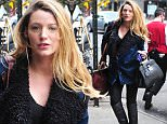 Mandatory Credit: Photo by Startraks Photo/REX (4301125d)\n Blake Lively\n Blake Lively out and about, New York, America - 12 Dec 2014\n Blake Lively arrives to her hotel\n